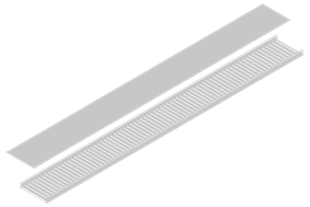 Solid Long Span Cable Tray (Double Side)