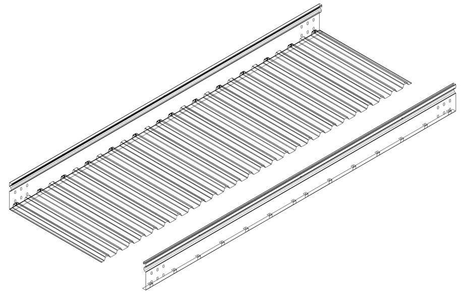 XMBG Series Corrugated Cable Tray