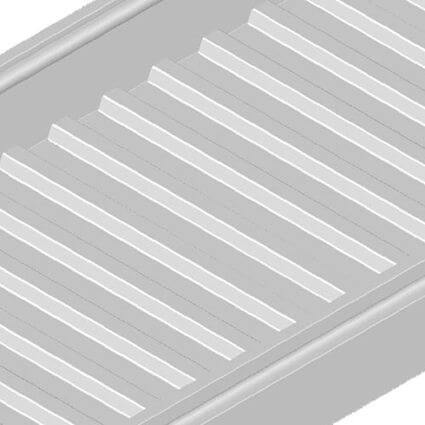 Solid Corrugated Cable Tray