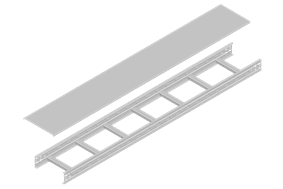 Ladder Embossed Cable Tray
