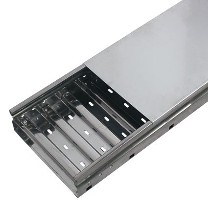 Perforated Corrugated Cable Tray