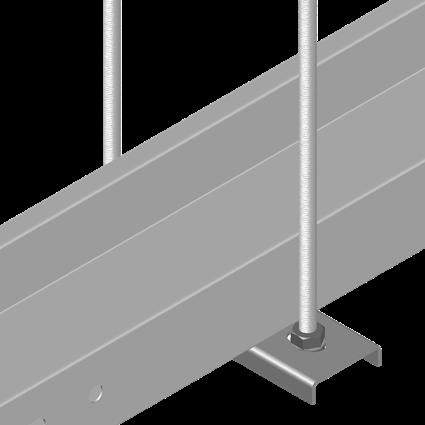 C Type Steel Rail