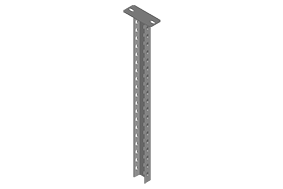 Column with C Type Steel Rail