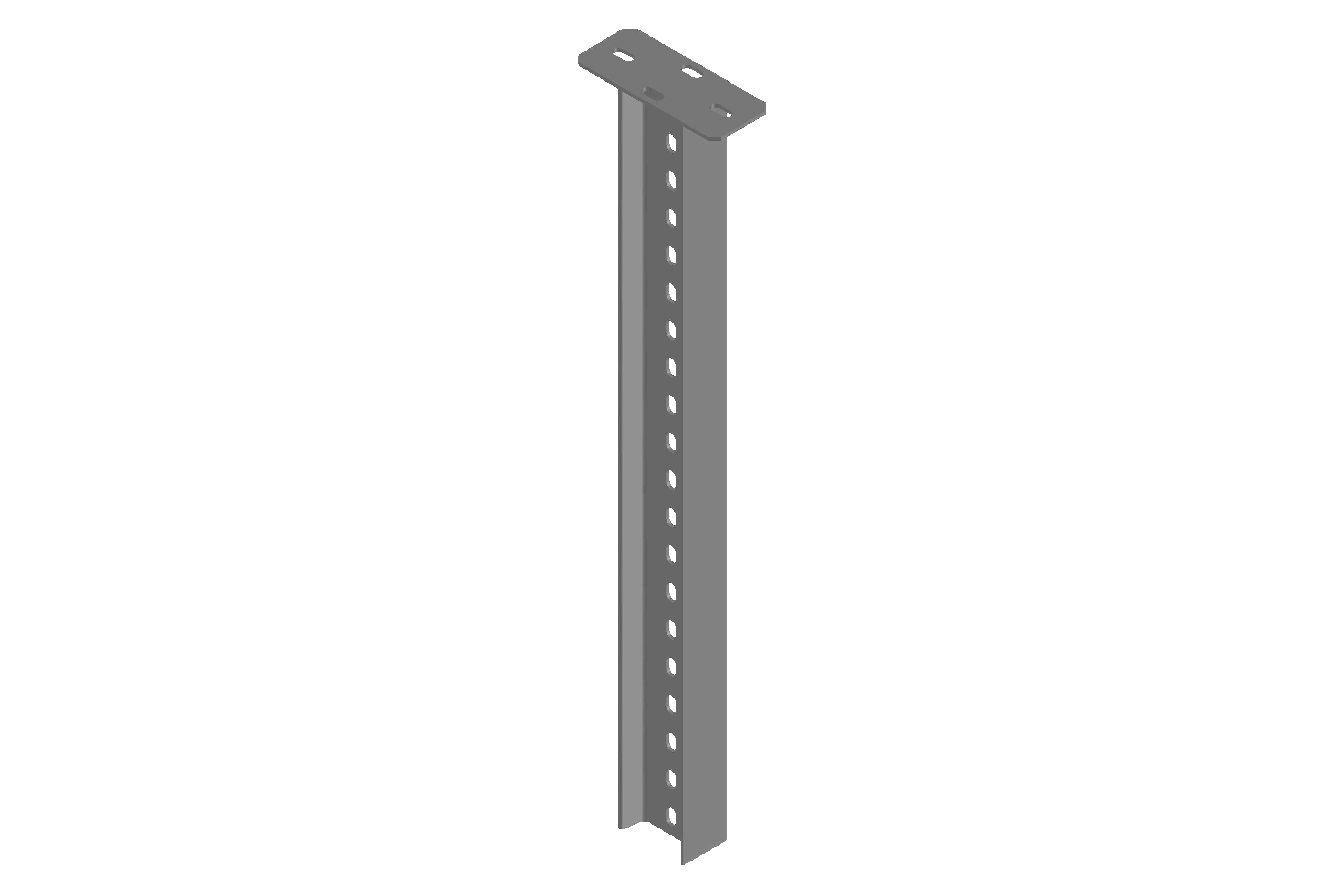 Column with H Type Steel Rail