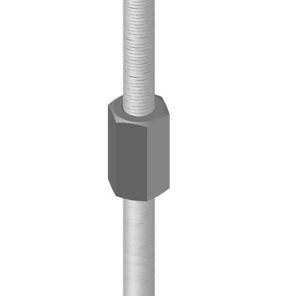 Extender for Threaded Rod