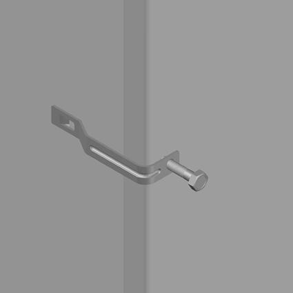 L Type Cover Clip